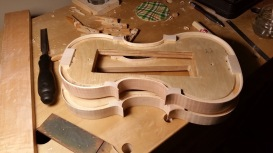 Two sets of ribs, the upper has the corners trimmed